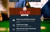 Com quase 15 anos de existência e já consolidado, o Replay Poker é mundialmente conhecido e sempre está com muitos torneios agitados