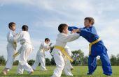 Mesmo muita gente pensando o contário, crianças podem - e devem - praticar artes marciais regularmente