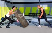 Ter um treinador acompanhando o treino é fundamental para evitar lesões