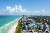 As praias de Miami fazem muito sucesso entre os brasileiros, porque elas são lindas e têm opções para todos os gostos
