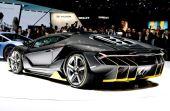 O carro Lamborghini Centenário possui 770 cavalos de potência e ultrapassa 350 km/h
