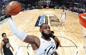LeBron James se tornou MVP do All Star Game pela terceira vez.