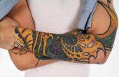 Uma forte maneira de expressão e atitude, hoje a tatuagem é também um elemento de sedução. Elas curtem.