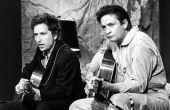 Cash cantou com inúmeras estrelas da música, entre elas, Bob Dylan