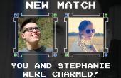 Com visual que lembra os jogos clássicos em 8 bits, o Nerd Spell tem tudo para divertir os nerds enquanto buscam por aquela pessoa especial