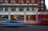 Fachada da loja: A primeira com o conceito de mobilidade sustentável