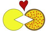 O designer japonês Toru Iwatani, em 1980, inventou um game de muito sucesso inspirado no formato de uma pizza: o Pac-Man