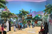 Bedrock, dos Flinstones, também será representado no novo parque como um mundo pré-histórico