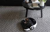 Aposente a vassoura e deixe que o POWERbot VR9000 tire o pó para você