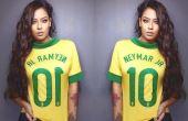 Sejamos francos, Rafaella Santos é uma garota bem bonita correto?