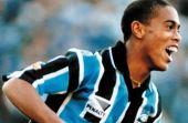 Ainda muito jovem, Ronaldinho trazia alegrias para o Grêmio