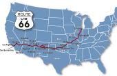 Este é o percurso da famosa Rota 66