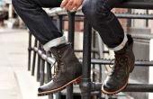 Além de estilosas, as botas masculinas são ótimas opções para proteger os pés do frio