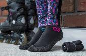 Nova meia pode ser usada para fazer caminhada, exercícios ou mesmo relaxar no sofá