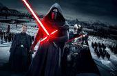 Após a morte de Darth Vader, seu neto, Kylo Ren, resolve ir para o lado negro da força e terminar o que ele começou