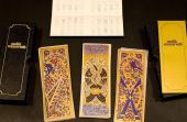 Provavelmente criado no norte da África, o baralho tarô mameluco foi o primeiro a conter 52 cartas