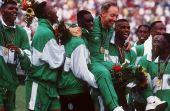 O time da Nigeria que disputou as Olimpíadas de 1996 causa pesadelos em qualquer brasileiro